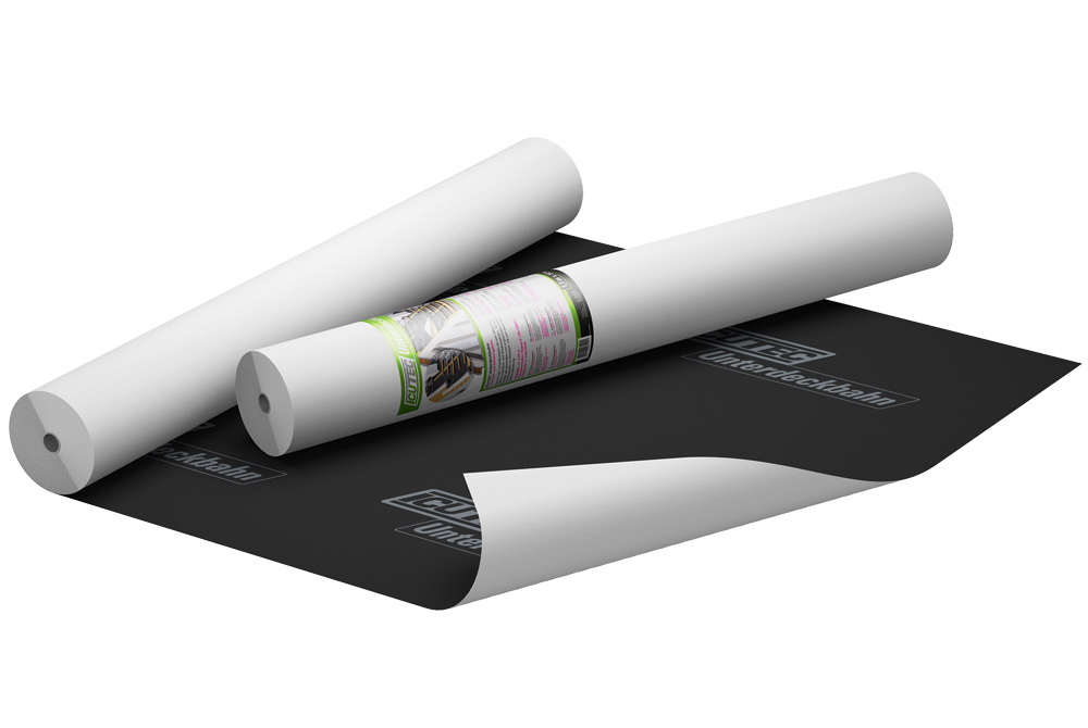 icutec unterdeckbahn unterspannbahn unterdeckbahn von icutec. Black Bedroom Furniture Sets. Home Design Ideas